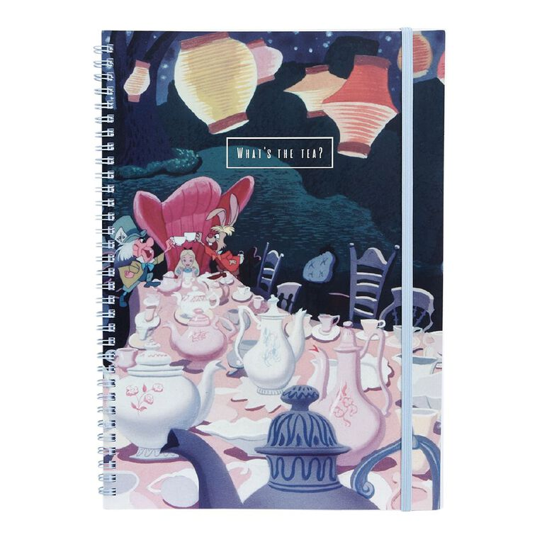 Disney Alice In Wonderland Disney Softcover Notebook A4, , hi-res