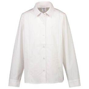 Schooltex Long Sleeve School Blouse with Straight Hem