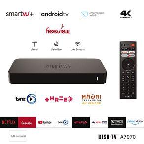 DishTV SmartVU+ Android TV Media Box A7070