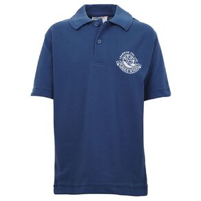 Schooltex Puahue School Short Sleeve Polo with Embroidery