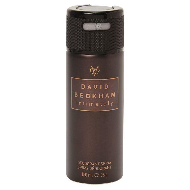 David Beckham Intimately Body Spray 150ml, , hi-res