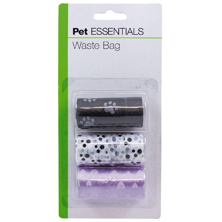 Pet Essentials Waste Bag 45 Piece, , hi-res image number null