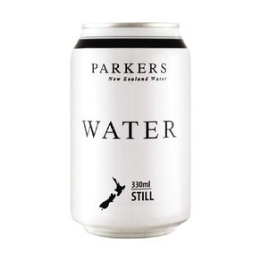 PARKERS Still water 330ml Cans 12 Pack