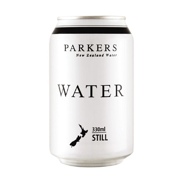 PARKERS Still water 330ml Cans 12 Pack, , hi-res