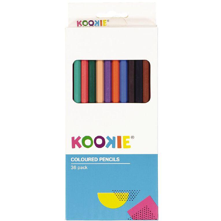 Kookie Coloured Pencils 36 Pack, , hi-res