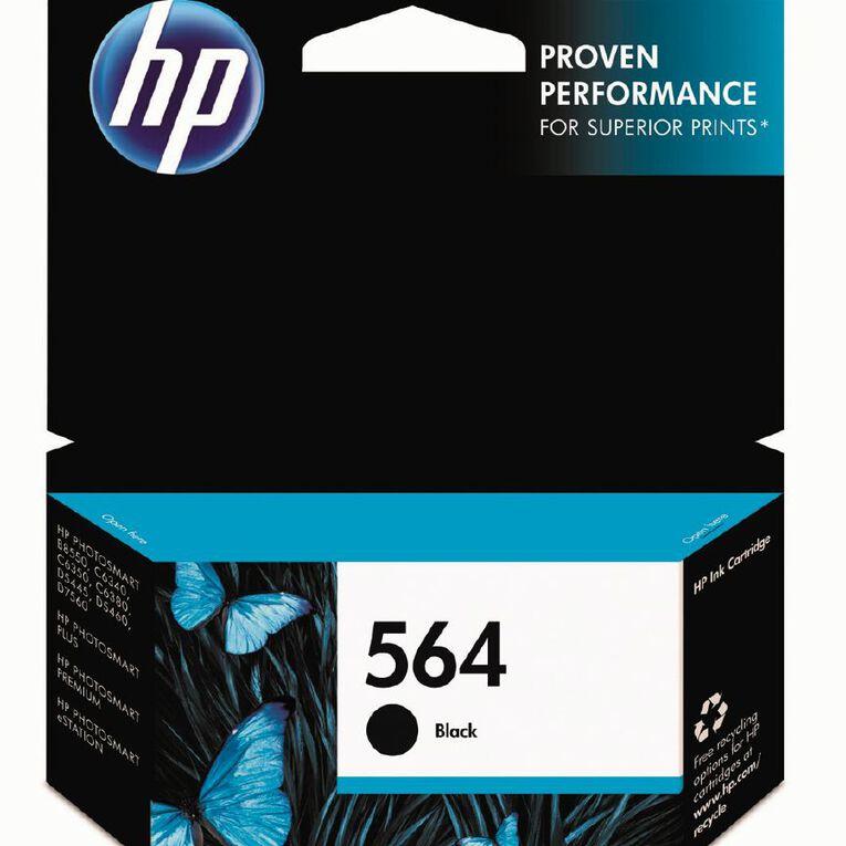 HP Ink 564 Black (250 Pages), , hi-res