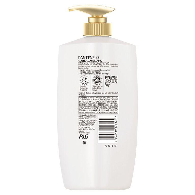 Pantene Classic Shampoo 900ml, , hi-res
