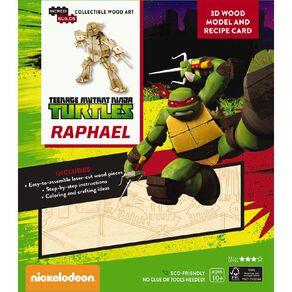 Incredibuilds Raphael 3D Wooden Model