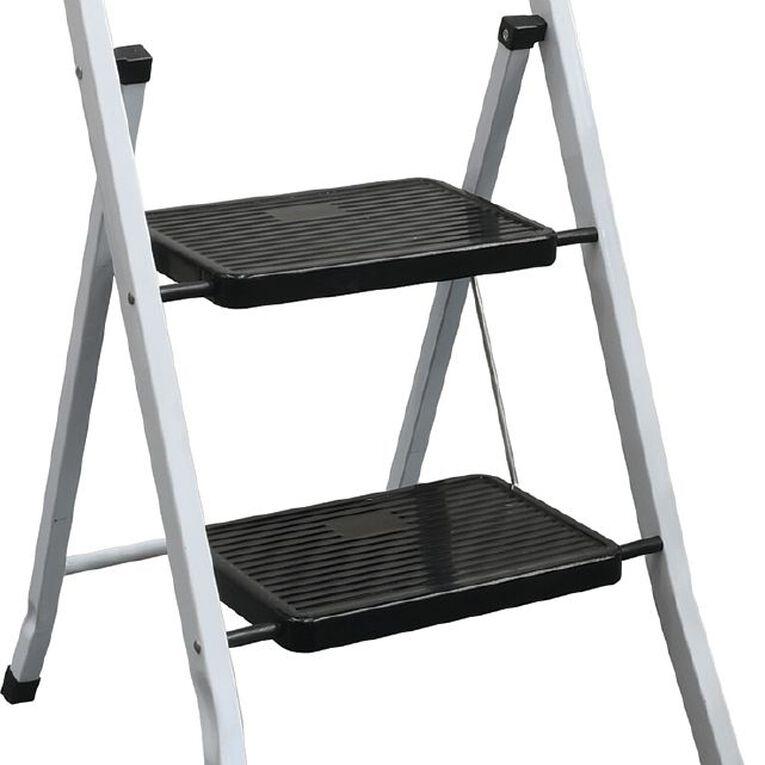 Bulldog 2 Step Steel Ladder, , hi-res