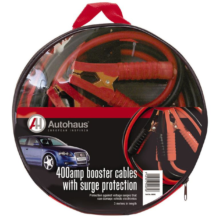Autohaus Booster Cables with Surge Protection 400amp, , hi-res