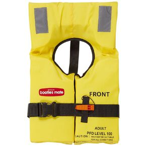 Boatie's Mate Life Jacket Block Style Adults
