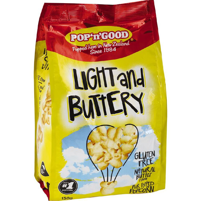 Pop N Good Light n Buttery Max 150g, , hi-res