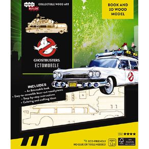 Ghostbusters Incredibuilds Ectomobile 3D Wooden Model