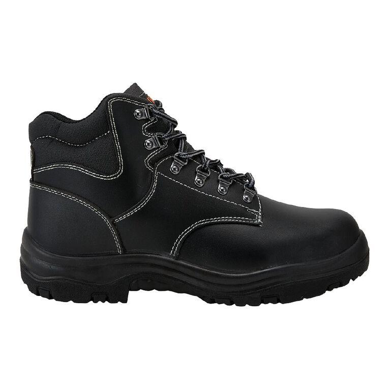 Rivet Orson Work Boots, Black, hi-res