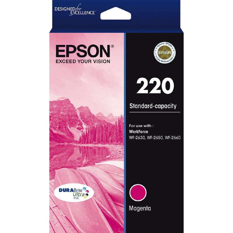 Epson Ink 220 Magenta (165 Pages), , hi-res