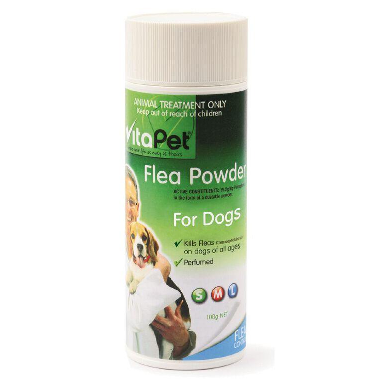 Vitapet Flea Powder for Dogs 100g, , hi-res