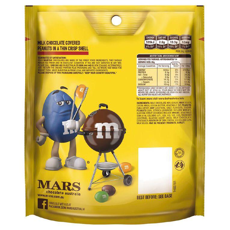 M&M's Peanut Chocolate Family Bag 345g, , hi-res