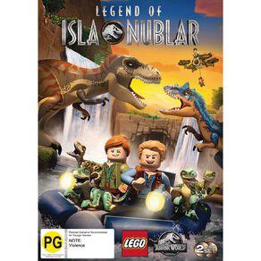 Lego Jurassic World Legend Of Isla Nublar DVD 1Disc