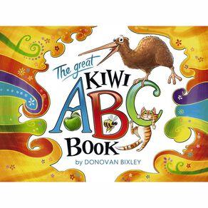 The Great Kiwi ABC Book by Donovan Bixley