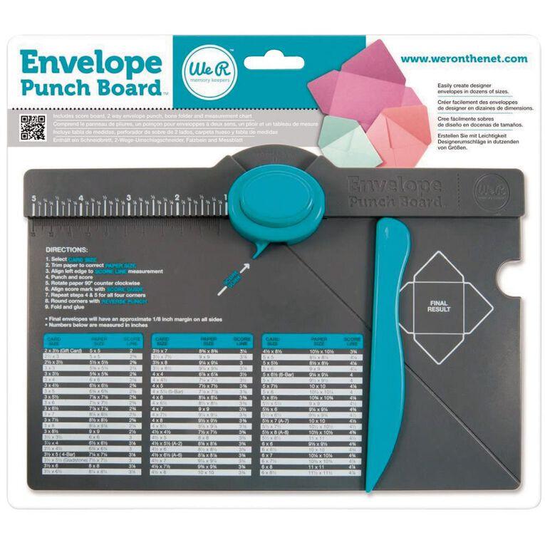 We R Memory Keepers Envelope Punch Board, , hi-res