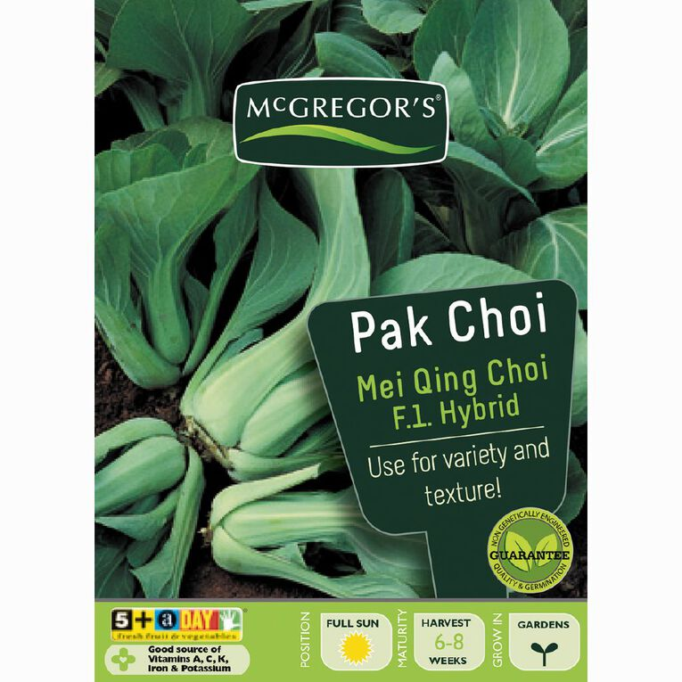 McGregor's Pak Choi Mei Qing Choi Hybrid, , hi-res
