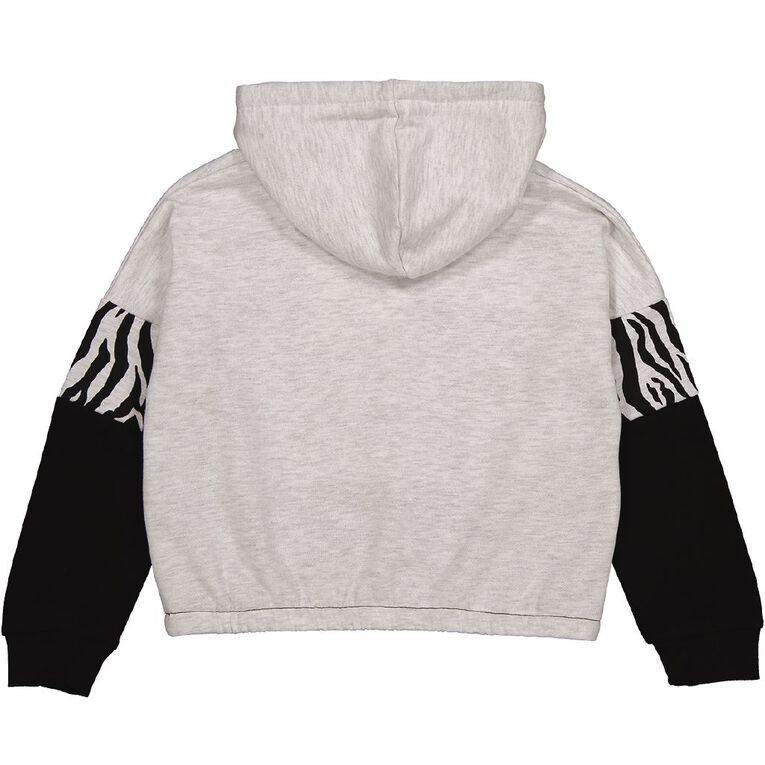 Young Original Crop Sweat Hoodie, Grey Light, hi-res