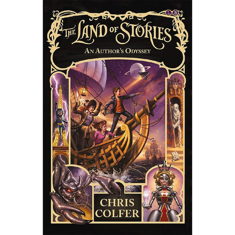 Land of Stories #5 An Author's Odyssey by Chris Colfer, , hi-res