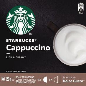 Starbucks Dolce Gusto Cappuccino 12 Capsules