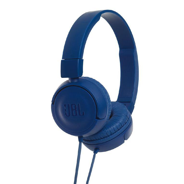 JBL T450 Wired Headphones Blue, , hi-res
