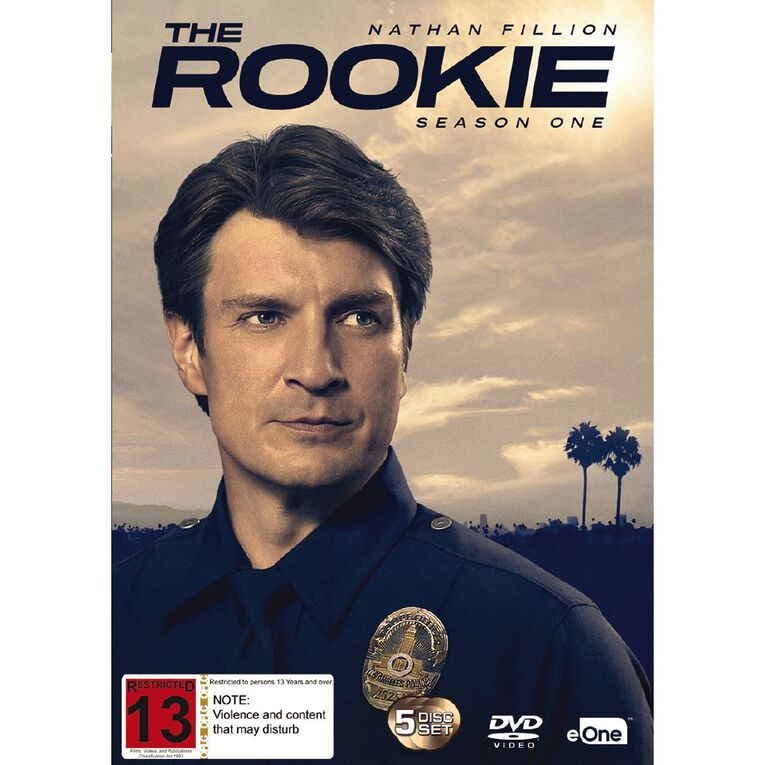 The Rookie Season 1 DVD 5Disc, , hi-res