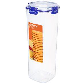 Sistema Klip It Plus Cracker Container Assorted 1.8L