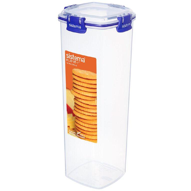Sistema Klip It Plus Cracker Container Assorted 1.8L, , hi-res