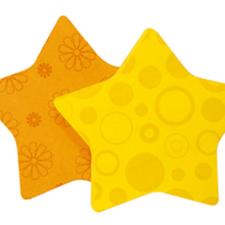 Post-It Super Sticky Star 7350 Yellow, , hi-res