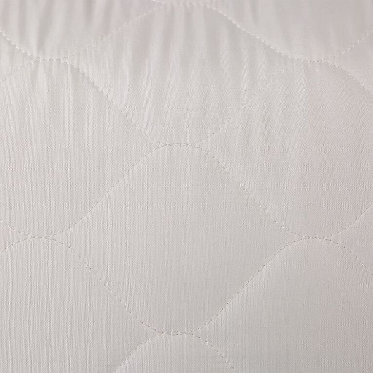 Living & Co Pillow Protector Microfibre White 2 Pack, , hi-res