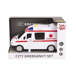 Play Studio City Emergency Car with Lights and Sounds Assorted