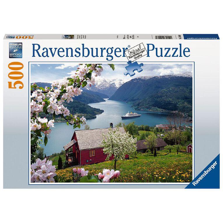 Ravensburger Landscape 500 Piece Puzzle, , hi-res