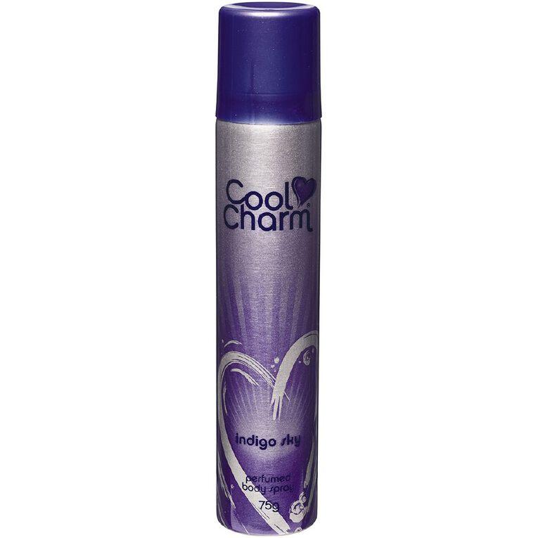 Cool Charm Body Spray Indigo Sky 75g, , hi-res