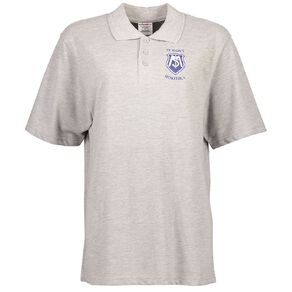 Schooltex St Mary's Hokitika Short Sleeve Polo with Transfer