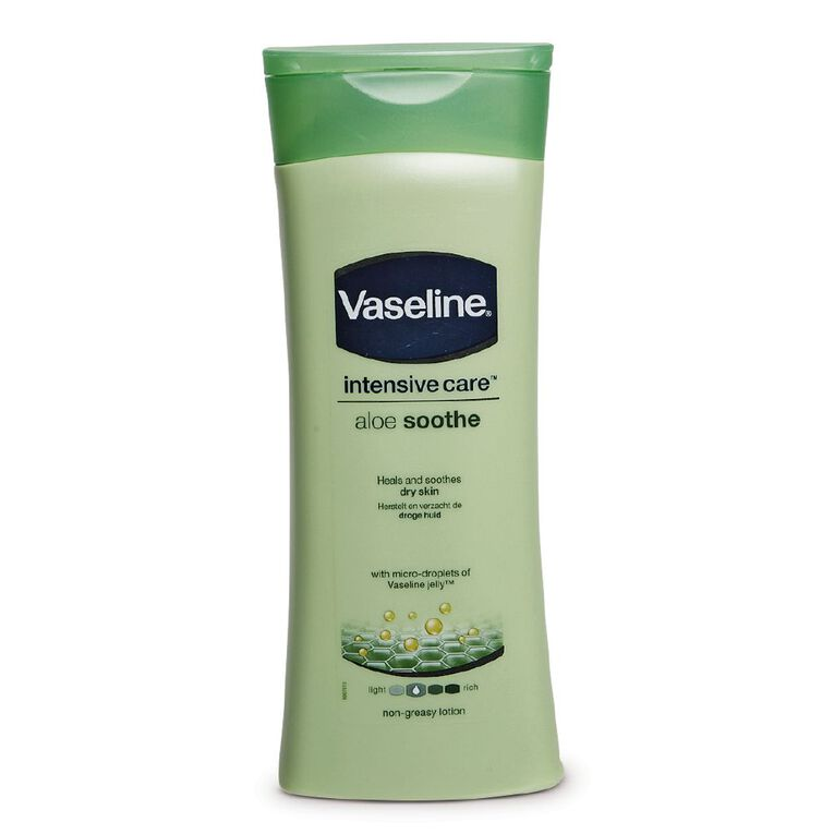 Vaseline Aloe Soothe Body Lotion 400ml, , hi-res