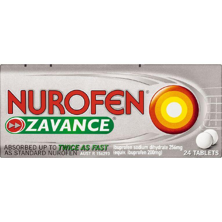 Nurofen Zavance Tablets 24s, , hi-res