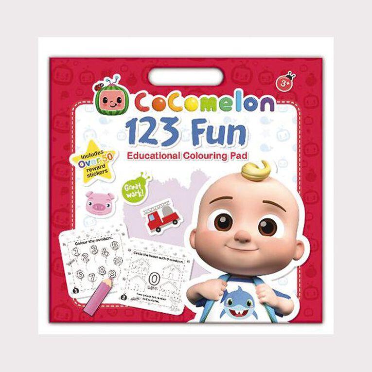 Cocomelon: 123 Education Colouring Pad, , hi-res