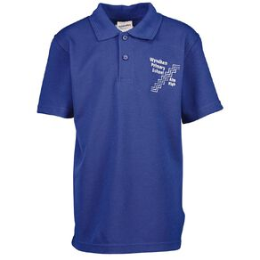 Schooltex Wyndham Primary Short Sleeve Polo with Embroidery