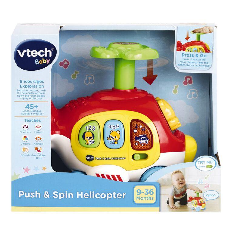 Vtech Push n Spin Helicopter, , hi-res
