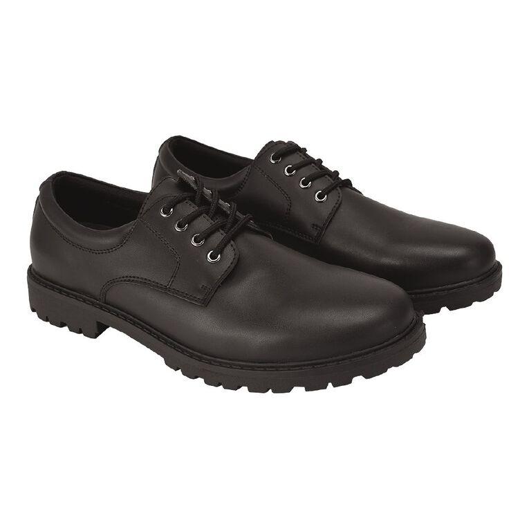 Young Original Senior Lace Up Shoes, Black, hi-res