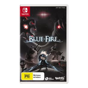 Nintendo Switch Blue Fire
