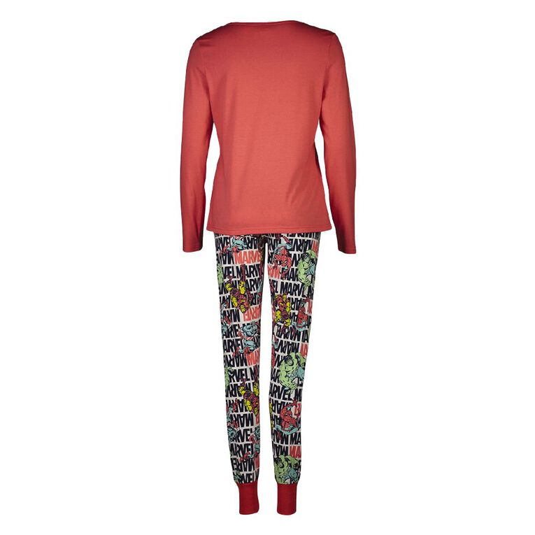 Marvel Disney Women's Knit Pyjama Set, Black, hi-res