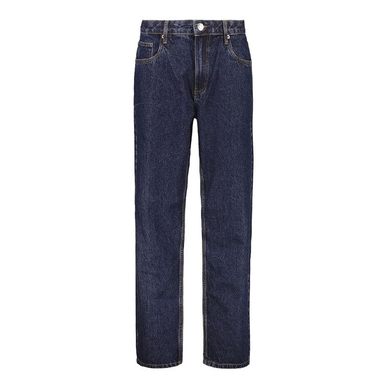 Rivet Men's Classic Jeans, Denim Dark, hi-res