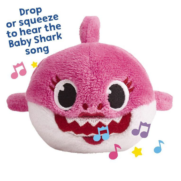 Baby Shark Mini Plush With Sound Assorted, , hi-res