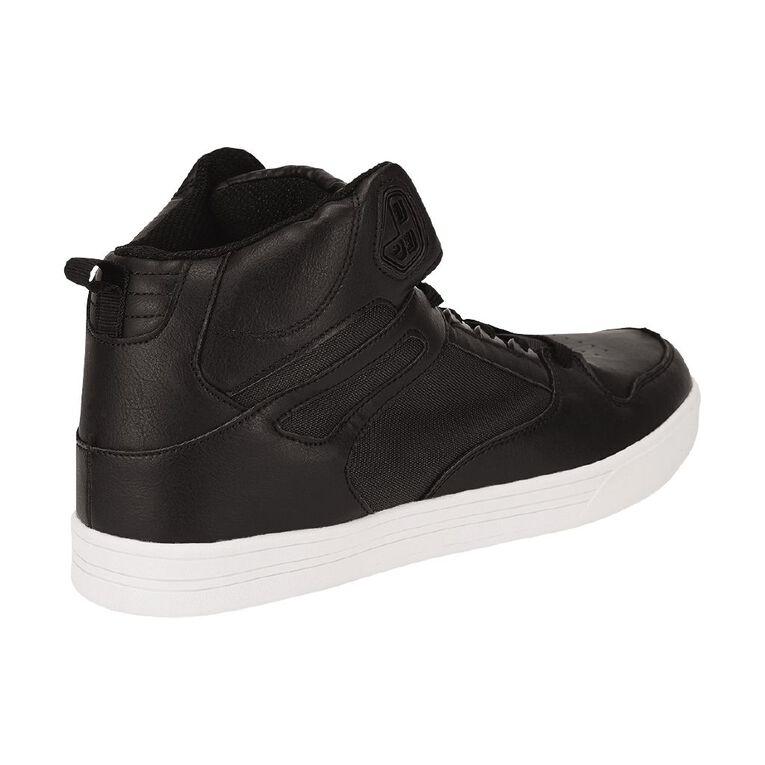 H&H Cam Skate Hi Top Sneakers, Black, hi-res