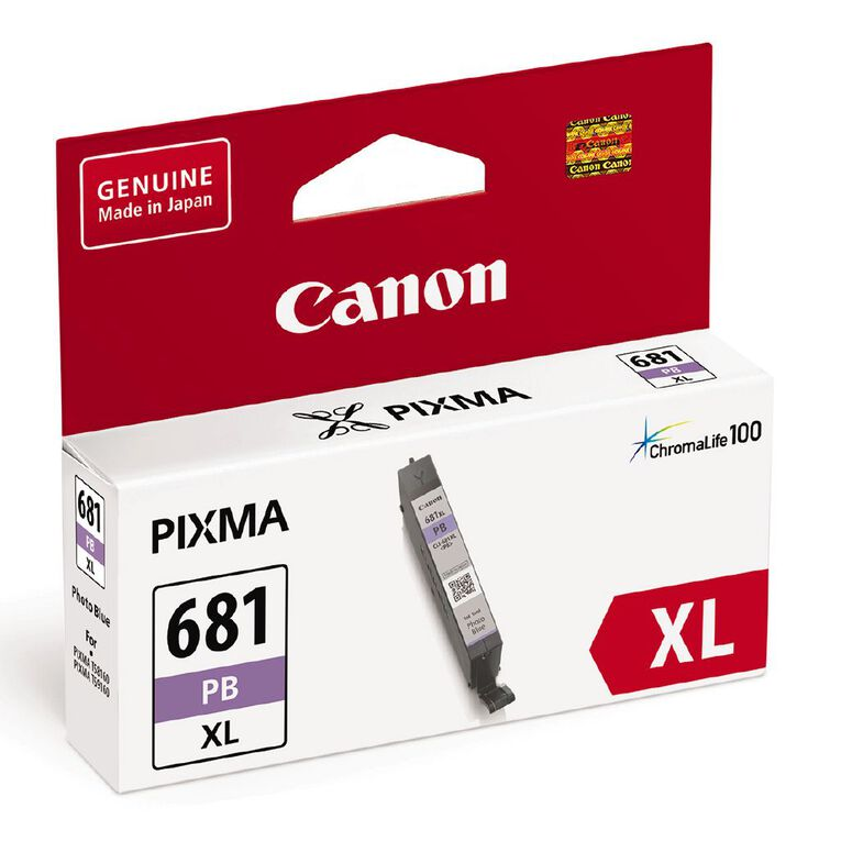 Canon CLI-681XL Ink Photo Blue (500 Pages), , hi-res
